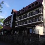 Внешний вид отеля Эдельвейс в Яремче